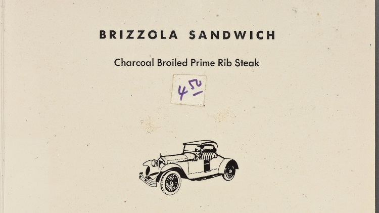 James Bond food brizzola