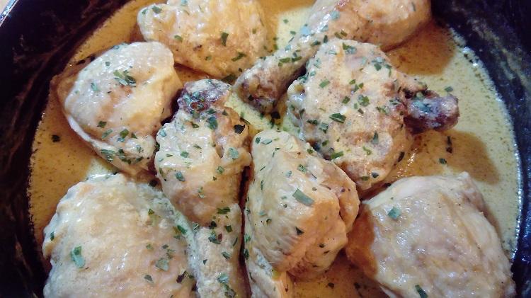 James Bond food poularde chicken