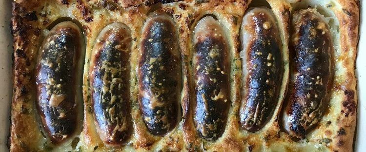 James Bond food toad-in-the-hole
