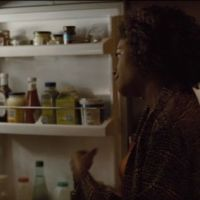 What's in Moneypenny's fridge?