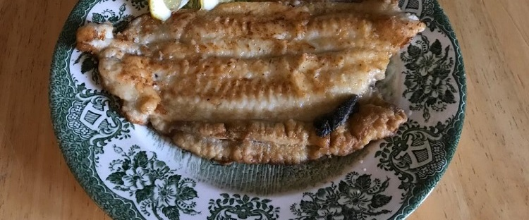 James Bond food fried sole
