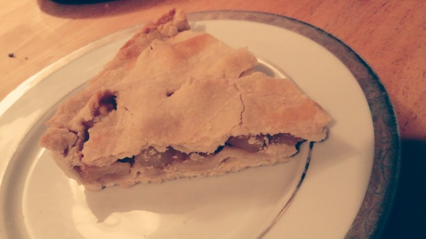 James Bond Food apple pie