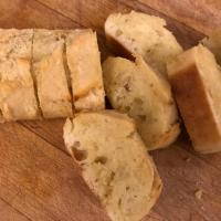 Ian Fleming's garlic bread