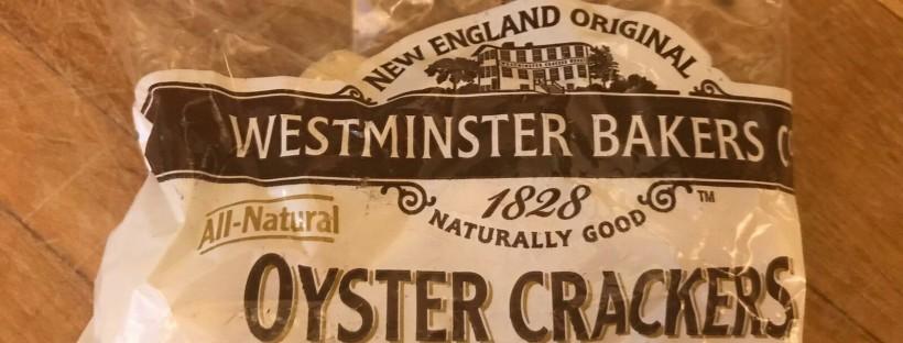 James Bond Food oyster crackers