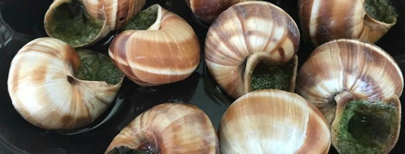 James Bond Food snails escargot
