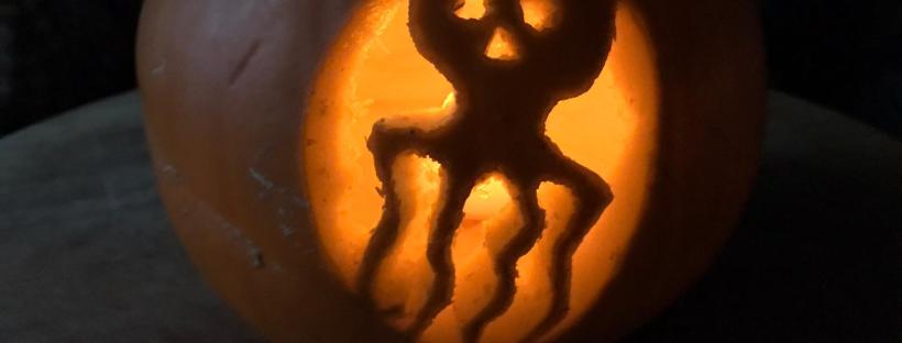 James Bond food spectre pumpkin
