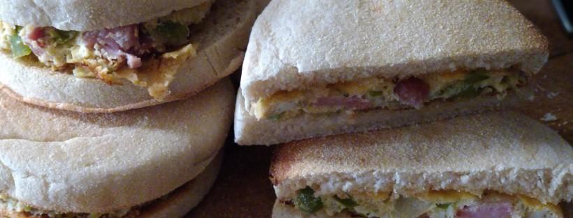James Bond food western sandwich