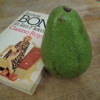 James Bond introduces the avocado pear