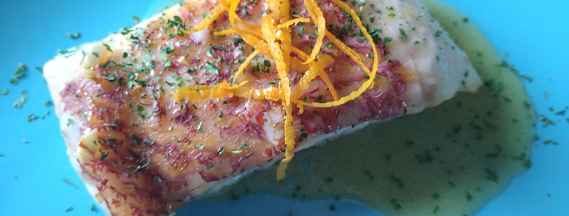 James Bond food red snapper no time to die