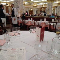 A Bondian restaurant and Bond premiere