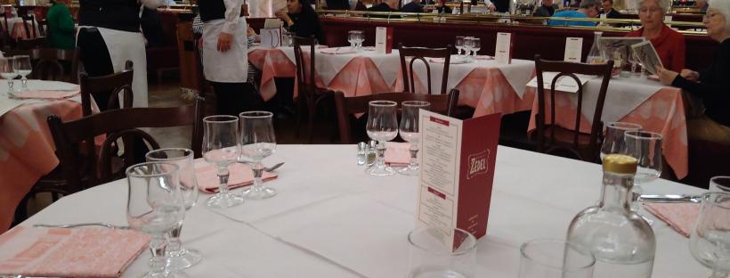 James Bond food Brasserie Zedel