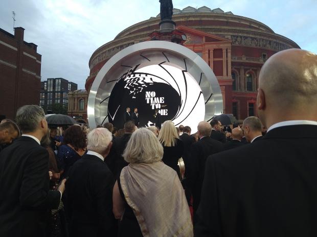 James Bond food No Time to Die premiere
